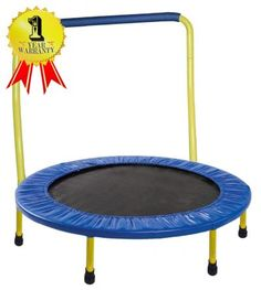Just arrived Portable & Foldable Trampoline - 36 Dia. Durable Construction Safe for Kids with Padded Frame Cover and Handle / 1 Year Warranty - Yellow by GYMENIST 15 Ft Trampoline, Trampoline Reviews, Trampoline Workout, Backyard Trampoline, Trampoline Ideas, Rebounder Trampoline, Trampolines, Yellow Online, Toys