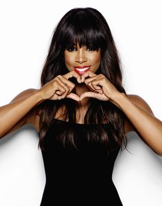 .Kelly Rowland is Soooo! Cute! And Funny and Talented :)  Oh! And A Sweet Person Too!