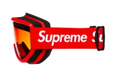 Supreme's highly entertaining line of highly unnecessary lifestyle accessories continues unabated, with a set of bogo-adorned ski goggles. Motocross, Motorcross Bike, Supreme Lv, Supreme Stuff, Avatar Babies, Supreme Clothing, Camry Se, Glasses Shop, Mcm Bags