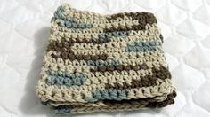 Crocheted Coasters Trivets - Earth Ombre #bestofEtsy #etsyretwt