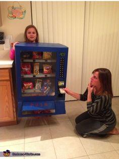 Vending Machine Costume - Halloween Costume Contest via @costumeworks