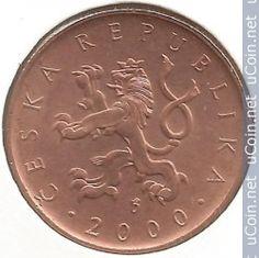 Moneta> 10 Korun, 2000 - Czechy (Millennium - rok 2000) - odwrotna