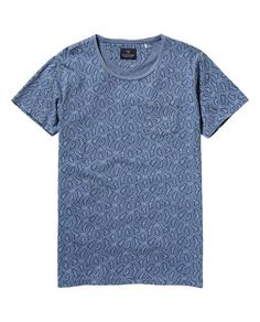 Washed Indigo T-Shirt  - Scotch