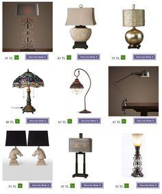Abajur Modelleri - Ev Aksesuar Mağazası. Evin için en güzel salon aksesuarları , dekoratif ürünler ve ev aksesuarları burada.