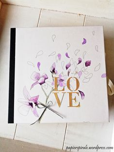 Love is in the air… Album, Scrapbook, Gifts, Home Decor, Paper, Great Gifts, Holiday, Stamps, Presents