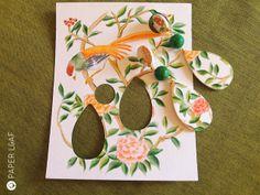 Paper Leaf: Chinoiserie - A mezza strada