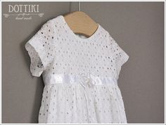 Baby Girl Christening Dress White Embroidered Cotton Dress Baby Girl Christening, Christening Gowns, Baptism Dress, Dress Drawing, White Girls, Cotton Lace, Silk Fabric, Cotton Dresses, Mall