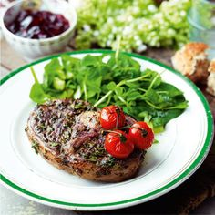 Redcurrant and herb chops | Easy lamb recipes | Red Online