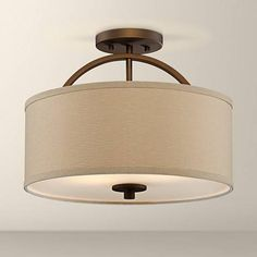 Clearly Modern Semi-Flush Ceiling Light | Ceiling, Modern and Lights