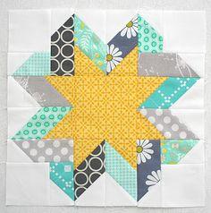 Freshly Pieced: Ribbon Star Block Tutorial