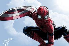 Spiderman Trailer Civil War by JonathanPiccini-JP.deviantart.com on @DeviantArt
