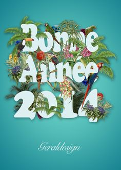 Bonne Année 2014 - Geraldesign