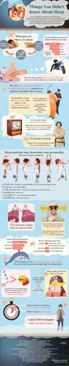 16 Facts About Sleep | Psychology Degree