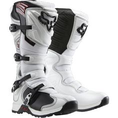 4d5a543f2290 Best Sale Fox Racing Comp 5 Men s Motocross Off-Road Dirt Bike Motorcycle  Boots - Color  White