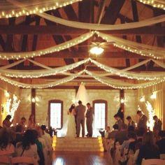 Illuminato Garland - 20 piedi di lunghezza con 100 luci. Decorazione di cerimonia di nozze, decorazioni, Abiti Sposa, scala, Bunting, Swags, navata Decor, tetto