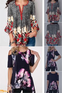 Modlily has all kinds of tops. Womens Trendy Tops, Face Painting Designs, Kimono Top, Fancy, Fashion Outfits, Embroidery, Jeans, Girls, Decor