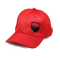 The TeraFlex pro style stretch fit cap is constructed from performance wicking 98% polyester / 2% spandex with structured front panels. The spandex provides a custom fit feel and adjusts for most head sizes. Red cap color with black TeraFlex logo.