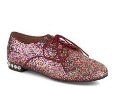 Electric Rainbow Flat - $43 from ModCloth