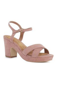 Sandália plataforma salto bloco rosa Primark 2017, Plate, Shoes, Amazing, Outfits, Clothes, Fashion, Vestidos, Wedges