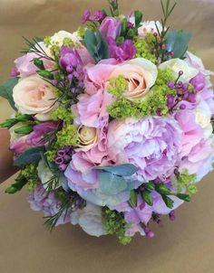 Tons de lilás.