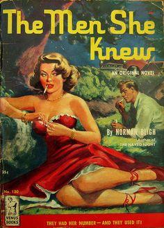 The Men She Knew - Venus Books - No 130 - Norman Bligh - 1951. by MICKSIDGE, via Flickr