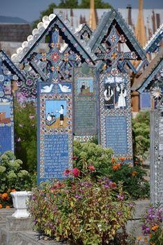 Cimitirul Vesel. Sapanta. Rumunia