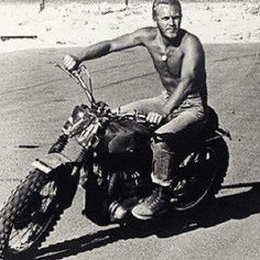 Steve McQueen | Personal Life Steve Mcqueen Triumph, Actor Steve Mcqueen, Steven Mcqueen, Steeve Mac Queen, Define Cool, Celebrities Then And Now, Mc Queen, Dapper Gentleman, Badass Style
