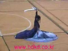 Korean Two Sword Dance By Jae Kyung - YouTube