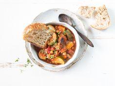 Ratatouille With Chickpeas - Crock-Pot Recipe - Genius Kitchensparklesparkle