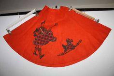 Circle Skirts, Pot Holders, Vintage, Hot Pads, Potholders, Vintage Comics