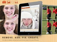 ClonePic - Remove. Add. Fix. Create. It's like a rubber-stamp tool and clone brush for your iPhone!
