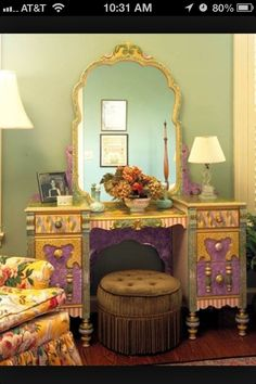 Dresser.  I have this same dresser, what a way to bring new life to it!