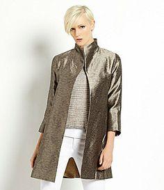 Eileen Fisher Silk Jacket #Dillards