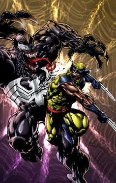 Wolverine vs Venom