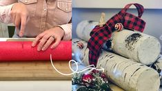 Pool Noodles Turned Birch Logs | Hometalk - YouTube Christmas Crafts To Make, Dollar Store Christmas, Christmas Hacks, Christmas Tree Farm, Crafts To Do, Holiday Crafts, Dyi Crafts, Christmas Decor, Christmas Activities