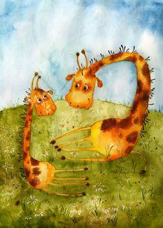 Жирафы (Виктория Кирдий)