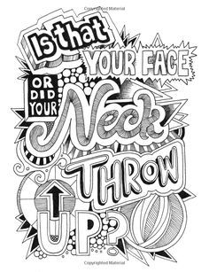 AmazonSmile Creative Insults Retro Coloring Designs For Foul Mouthed Beasts A Sweary