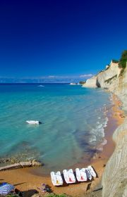 Corfu Greece..does not get justice..everyone thinks of Santorini and Mykonos and Crete..but Corfu in the Ionian Sea is Beautiful.. www.captaintheocorfu.net Cruises Services