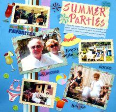 SUMMER PARTIES - Scrapbook.com