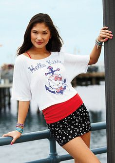 dELiAs > Hello Kitty Sailor Tee > tops > graphic tees > view all graphic tees