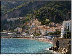 The most beautiful coastline in the world...the Amalfi Coast.