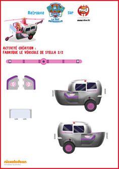 TFou.fr te propose de créer l'hélicoptère de Stella grâce à ce paper toy. Imprime gratuitement cette activités de Stella de la Pat'Patrouille. Retrouve aussi toutes les activités de Stella et de ses amis de la Pat'Patrouille à imprimer gratuitement sur TFou.fr.