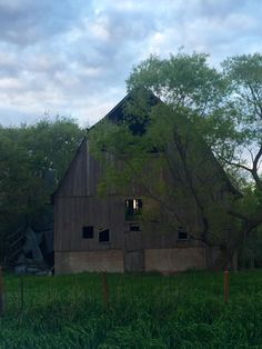 Our old barn in Iowa.