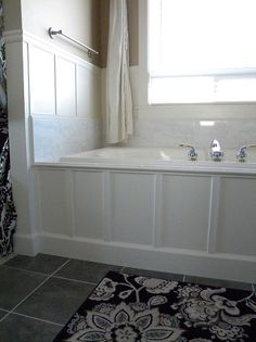 Hmmm... wonder if this is an option for us... We Updated Our 90's Bathtub in One Weekend With Less Than $200.
