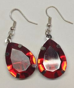Bold Love Dangle Earrings by JewelryByJoolie on Etsy
