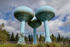 Raahen vesitornit Finland, Kulta, Architecture, Building, Travel, Arquitetura, Viajes, Buildings, Trips