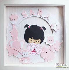 fun-ideas handmade: Kokeshi Sara rosa