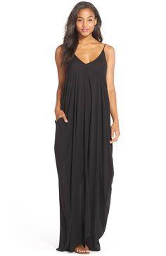 Main Image - ElanV-Back Cover-Up Maxi Dress
