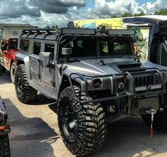 Hummer Was Initially A Brand Of Trucks And Suv's. It Was Basically A Military Vehicle Humvee. Later Civilian Version Of Hummer was Also Introduced. Hummer Cars, Hummer Truck, Jeep Truck, Jeep 4x4, Cool Trucks, Big Trucks, Pickup Trucks, Cool Cars, Jacked Up Trucks