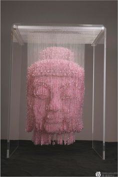 Amazing Three-Dimensional Suspended Bead Sculptures by Li Qing